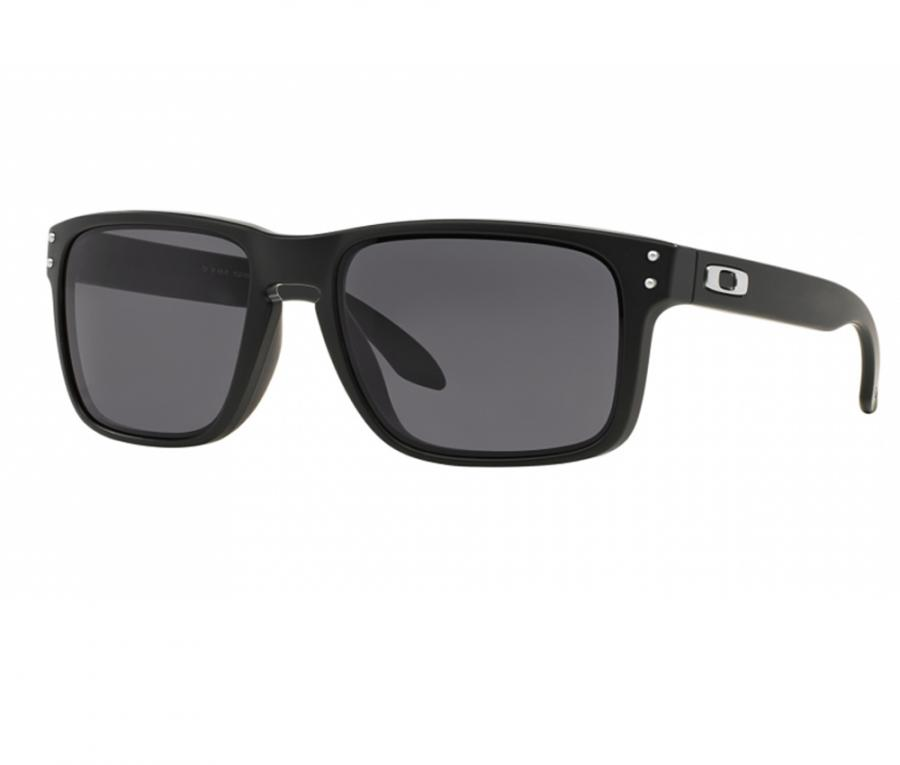 Oakley Latch Squared >> Oakley Holbrook Sunglasses In Matte Black With Grey Lenses